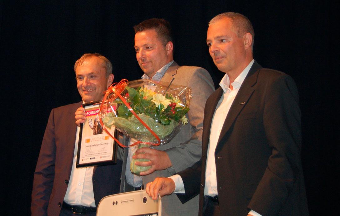 Fra venstre: Michael Zeigler, Jesper Fuchs og Carsten Rose