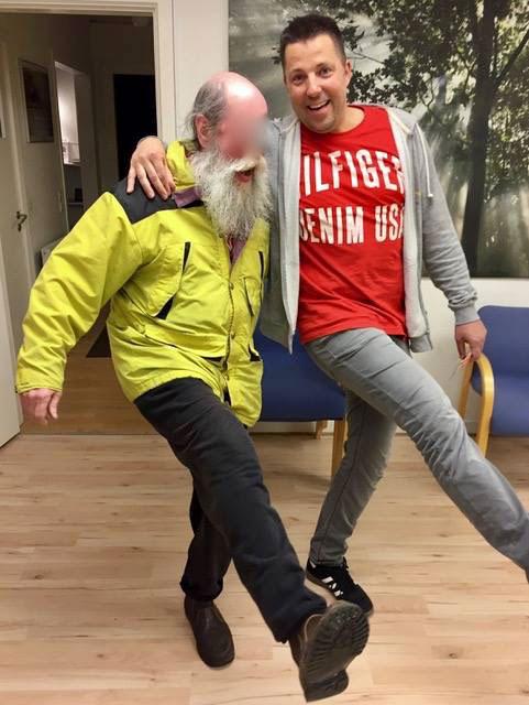Svensk hjemløs mand besøger Teen Challenge Sjællands værested i Taastrup